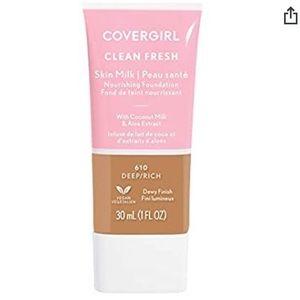 COVERGIRL, Clean Fresh Skin Milk Foundation, 610